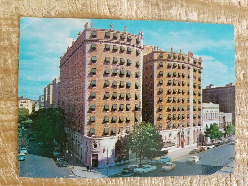 THE MAYFLOWER HOTEL WASHINGTON DC.VTG UNUSED POSTCARD*P11