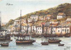 Polperro Harbour Boats Bateaux Port