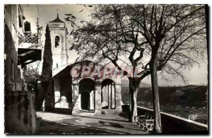 Postcard Modern Cagnes sur Mer Protection ND chapel
