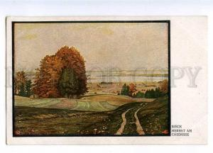 187999 Autumn at Chiemsee by SIECK Vintage postcard