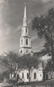 RPPC Providence RI, Rhode Island - First Baptist Church