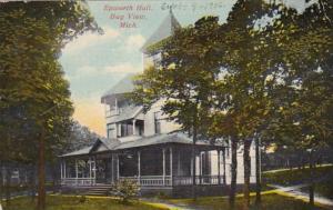 Michigan Bay View Epworth Hall 1913