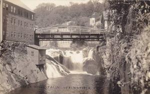 RP: Bridge over Black River Falls , SPRINGFIELD , Vermont , 00-10s