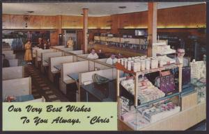 Chris Steak House,Sault Ste Marie,MI Postcard