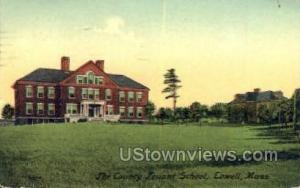 County Truant School Lowell MA 1918