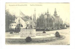 Bruxelles,Belgium, Exposition 1910 : Pavillon Hollandais PU-1910Louvain(Stati...