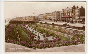 Sussex; Sunken Gardens, Brighton, No 6547 RP PPC, Unused, c 1930's