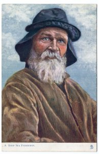 A Deep Sea Fisherman - Tuck