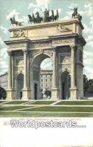 Milano, Italy, Italia Arco Della Pace  Arco Della Pace