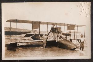 Mint USA Real Picture Postcard RPPC Flying Boat The Curtiss NC