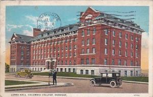Iowa Dubuque Loras Hall Columbia College 1932