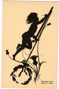 Silhouette, Diefenbach Goal, Jugend I, Blan 7, Signed