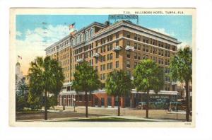 Hillsboro Hotel , Tampa, Florida, PU-1933