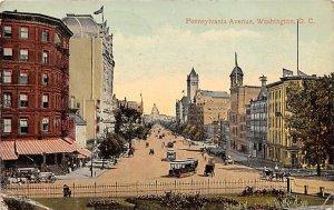 Pennsylvania Avenue Washington, DC, USA R.P.O., Rail Post Offices PU 1913