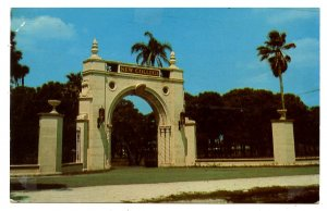 FL - Sarasota. New College, Archway Leading to Campus