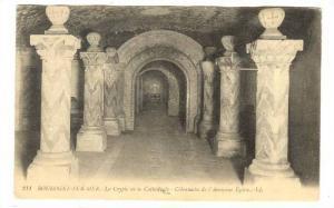 La Crypte De La Cathedrale, Colonnades De l'Ancienne Eglise, Boulogne-Sur-Mer...