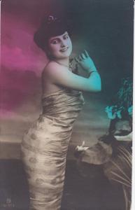 RP (tinted) , Female Torso portrait #1 , 00-10s ; Canada publisher Warwick Br...