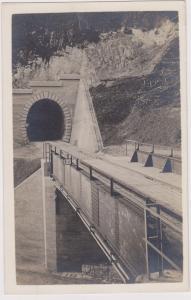 RP ; INNSBRUCK , Austria , 1913 ; Railroad Bridge & tunnel