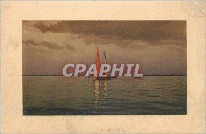 Old Postcard Boat