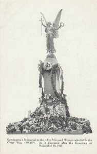 EASTBOURNE, England, 1919 ; Great War Monument
