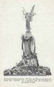 EASTBOURNE, England, 1919 ; Great War Monument