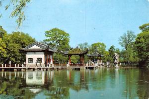 Hang Chow Hong Kong Bridge of Nine Turnings at the Tree Pools that Mirror the...