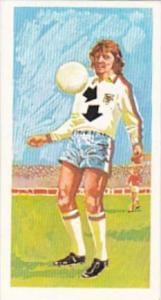 Brooke Bond Trade Card Play Better Soccer No 5 Controlling Ball With Chest
