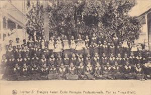 Institut St Francois Xavior , Ecole Menagere Professionnelle, Port-Au-Prince ...