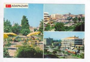 Adapazari, 3-view postcard - TURKIYE / Turkey, 60-70s