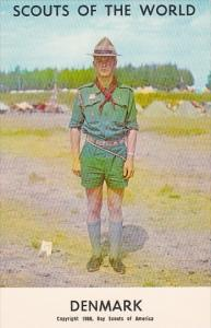 Boy Scouts Of The World In Uniform Denmark