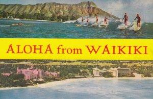 Aloha from WAIKIKI , Hawaii , 1950-60s