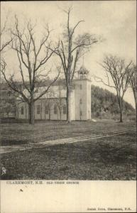 Claremont NH Old Union Church TUCK 1045 c1905 Postcard