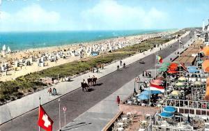 Netherlands Noordwijk aan Zee Kon. Wilhelmina Boulevard Beach Promenade