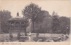 Pearson's Park, HULL, England, PU-1905; TUCK 2022