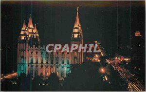 Modern Postcard Mormon Temple Salt Lake City Utah Temple This is Located on f...