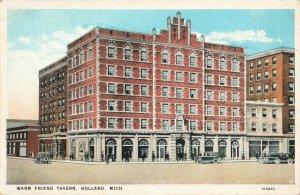 Postcard Warm Friend Tavern Holland Michigan