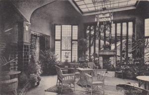 Germany Hamburg Grand Hotel Vier Jahreszeiten Winter Garten 1911