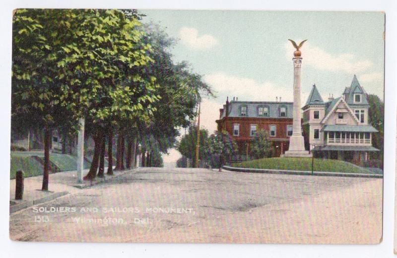 Soldiers Sailors Monument Wilmington DE
