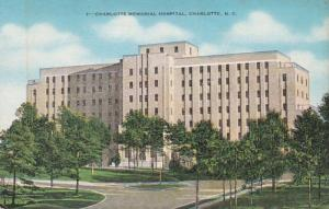 North Carolina Charlotte Memorial Hospital