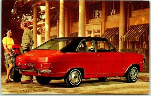 1970 BUICK OPEL KADETT Car Automobile Advertising Postcard 2-Door Sport Sedan