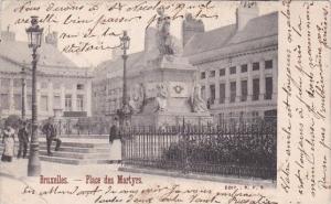 Belgium Brussels Place des Martyrs 1902
