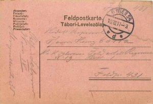 Entier Postal Stationery Postal Feldpost 431 Wien
