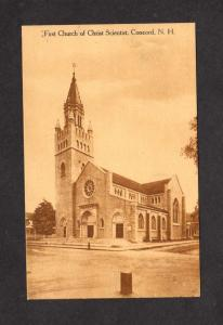 NH First Church of Christ Scientist Concord New Hampshire Postcard