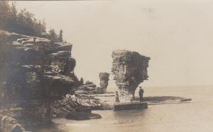 RP: Flower Pots (Rocks) , Ontario, Canada, 1900-10s