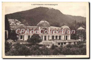 Old Postcard La Bourboule Casino And The Funicular
