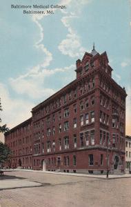 BALTIMORE, Maryland; Baltimore Medical College, 00-10s