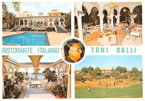 Ristorante italiano Toni Dalli Malaga Spain Unused
