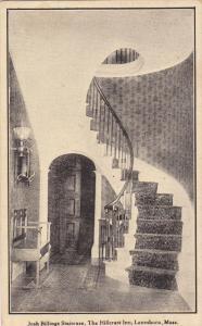 Josh Billings Staircase , The Hillcrest Inn , LANESBORO , Massachusetts , 00-10s