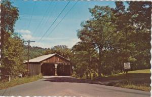 Vermont  Middlebury   Pulpmill Covered  Bridge