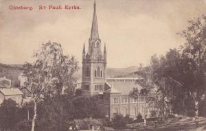 GOTEBORG, Sweden, 1900-1910s; Sit Pauli Kyrka